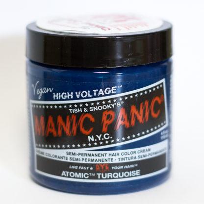 Яркая бирюзовая краска для волос Manic Panic