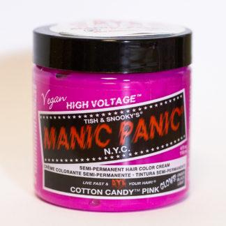 Яркая розовая краска для волос Manic Panic Cotton Candy Pink