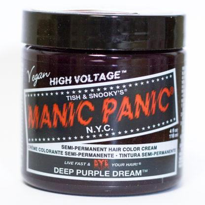 Яркая фиолетовая краска для волос Manic Panic Deep Purple Dream