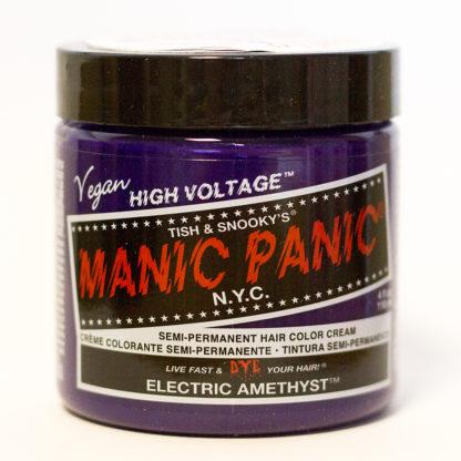 Яркая фиолетовая краска для волос Manic Electric Amethyst