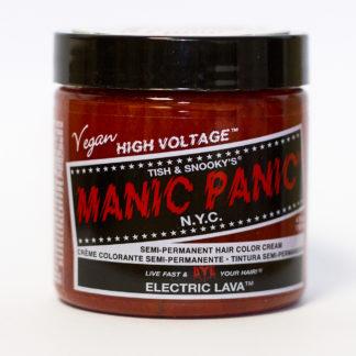 Яркая рыжая краска Manic Panic Electric Lava