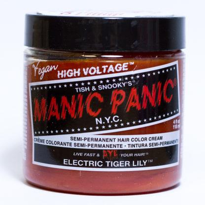 Рыжая краска для волос Manic Panic Electric Tiger Lily