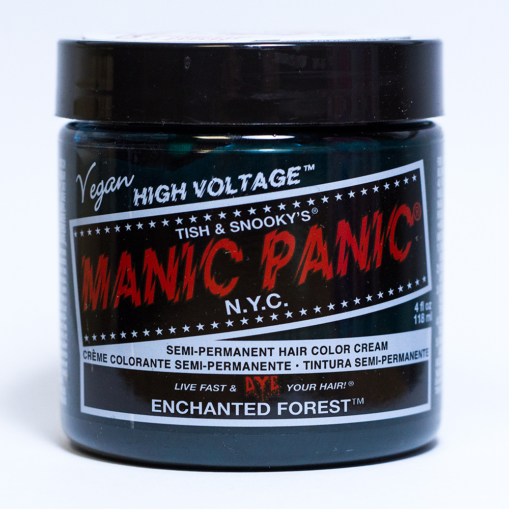 Яркая зеленая краска для волос Manic Panic Enchanted Forest