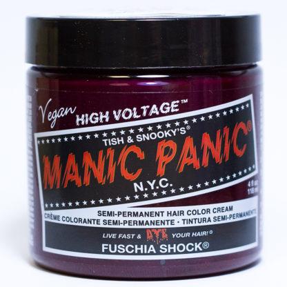 Яркая розовая краска для волос Manic Panic Fuschia Shock