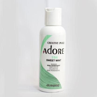 мятная яркая краска для волос Adore